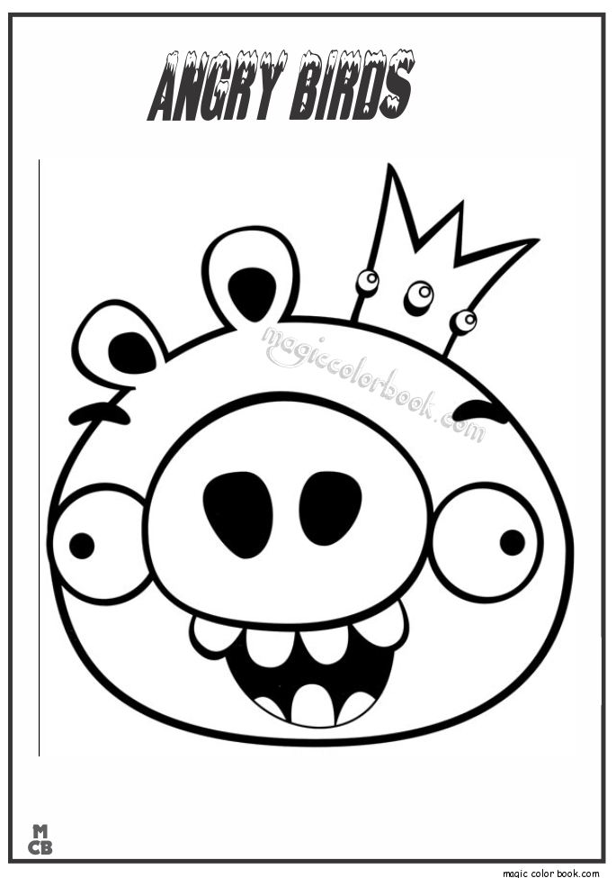 685x975 Angry Birds Images To Color Copy Bird Sheet Free Printable