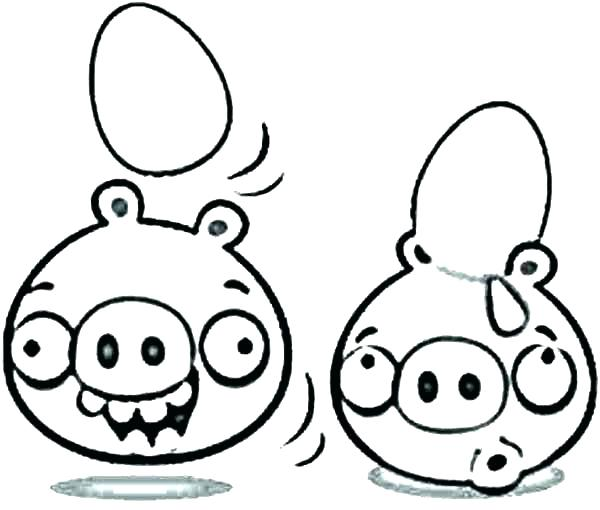 600x510 Cartoon Coloring Cartoon Tunes Coloring Pages Angry Bird Pigs