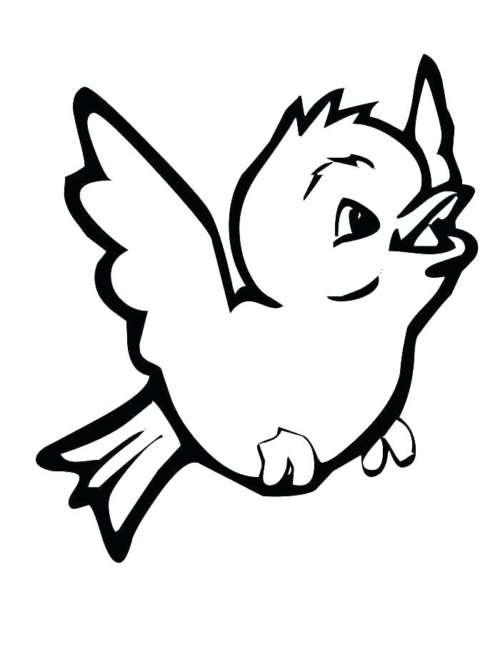 700x906 Coloring Page Of A Bird Bird Coloring Pages For Adults Bird