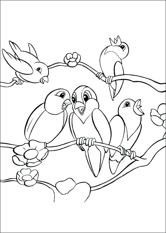 567x794 Robin Bird Coloring Pages Free Printable Coloring Pages Part Red
