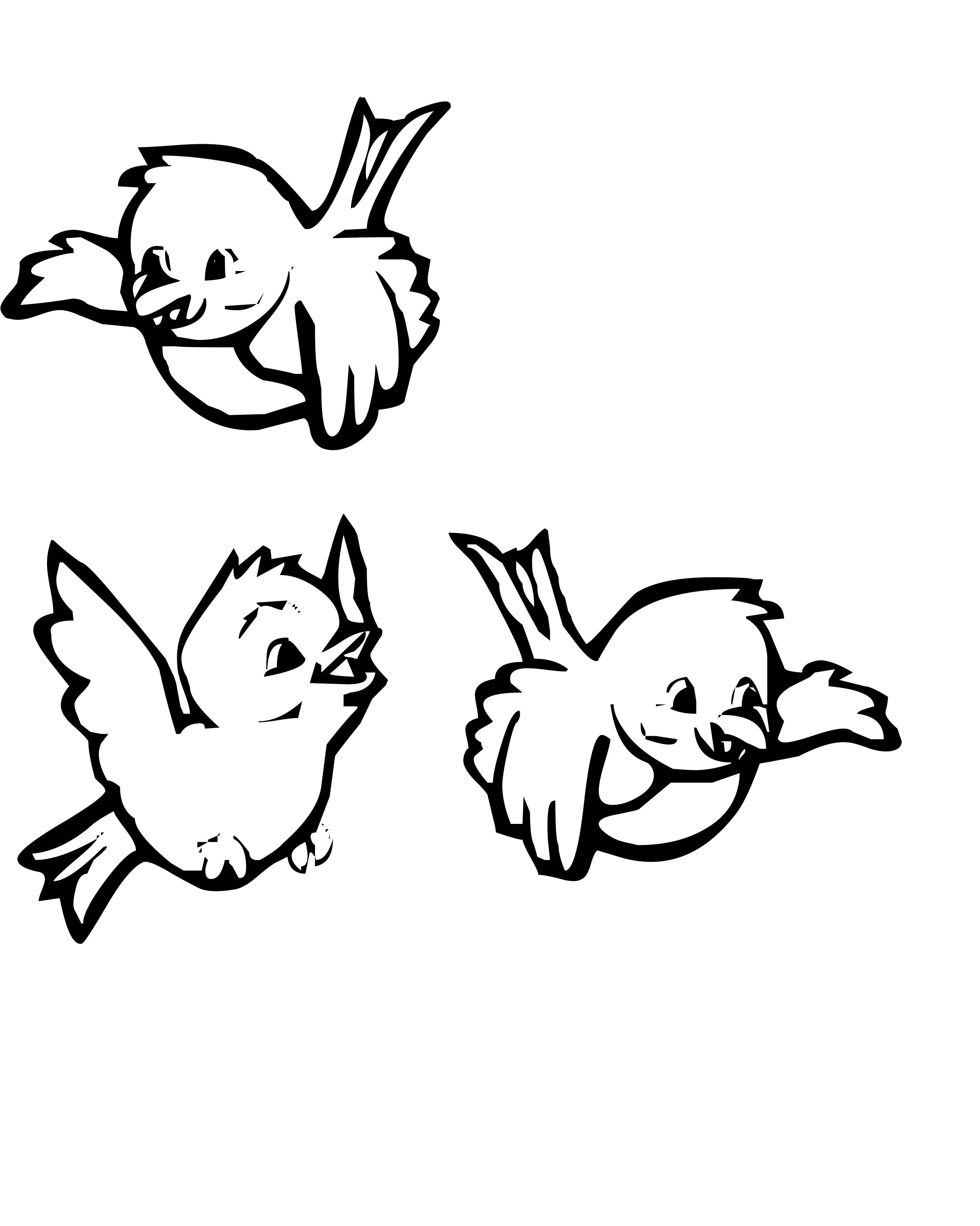 2250x2814 Cute Bird Coloring Pages