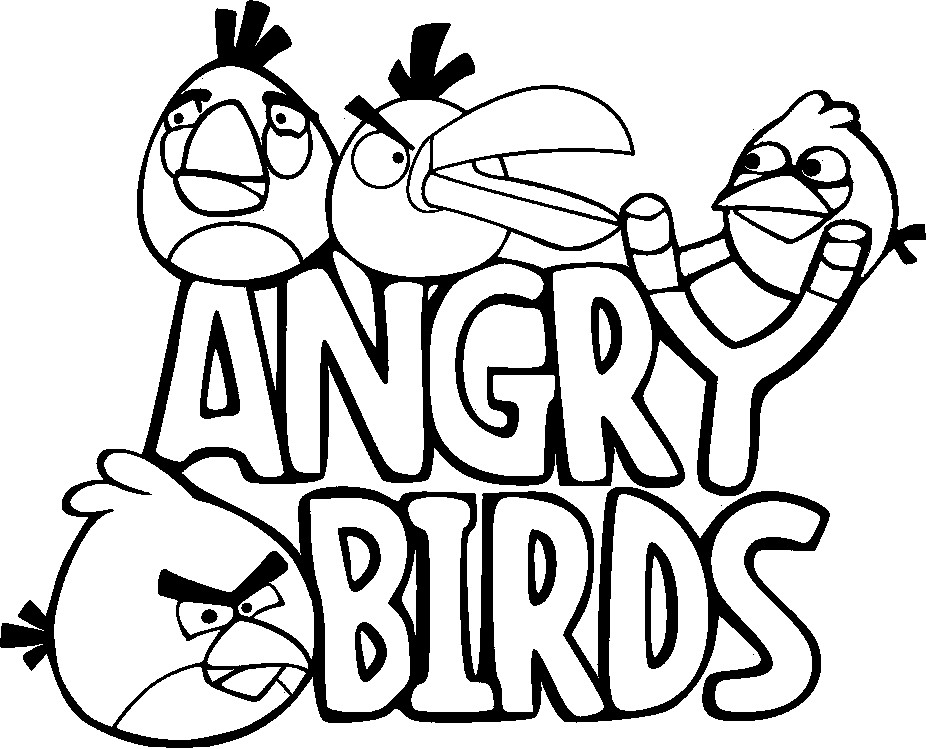 927x749 Angry Bird Coloring Pages Printable Coloring Pages Free Download