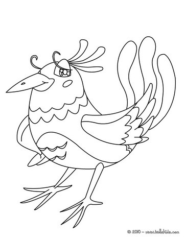 364x470 Bird Coloring Pages