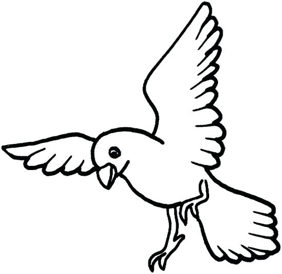Bird Coloring Pages For Preschoolers at GetDrawings.com | Free for ...