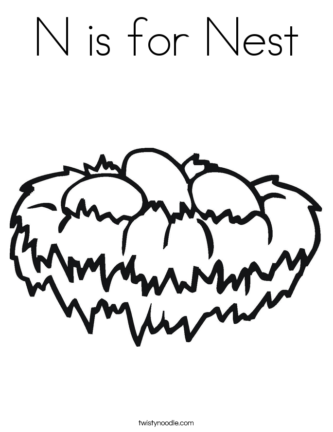 685x886 Top Nest Coloring Pages