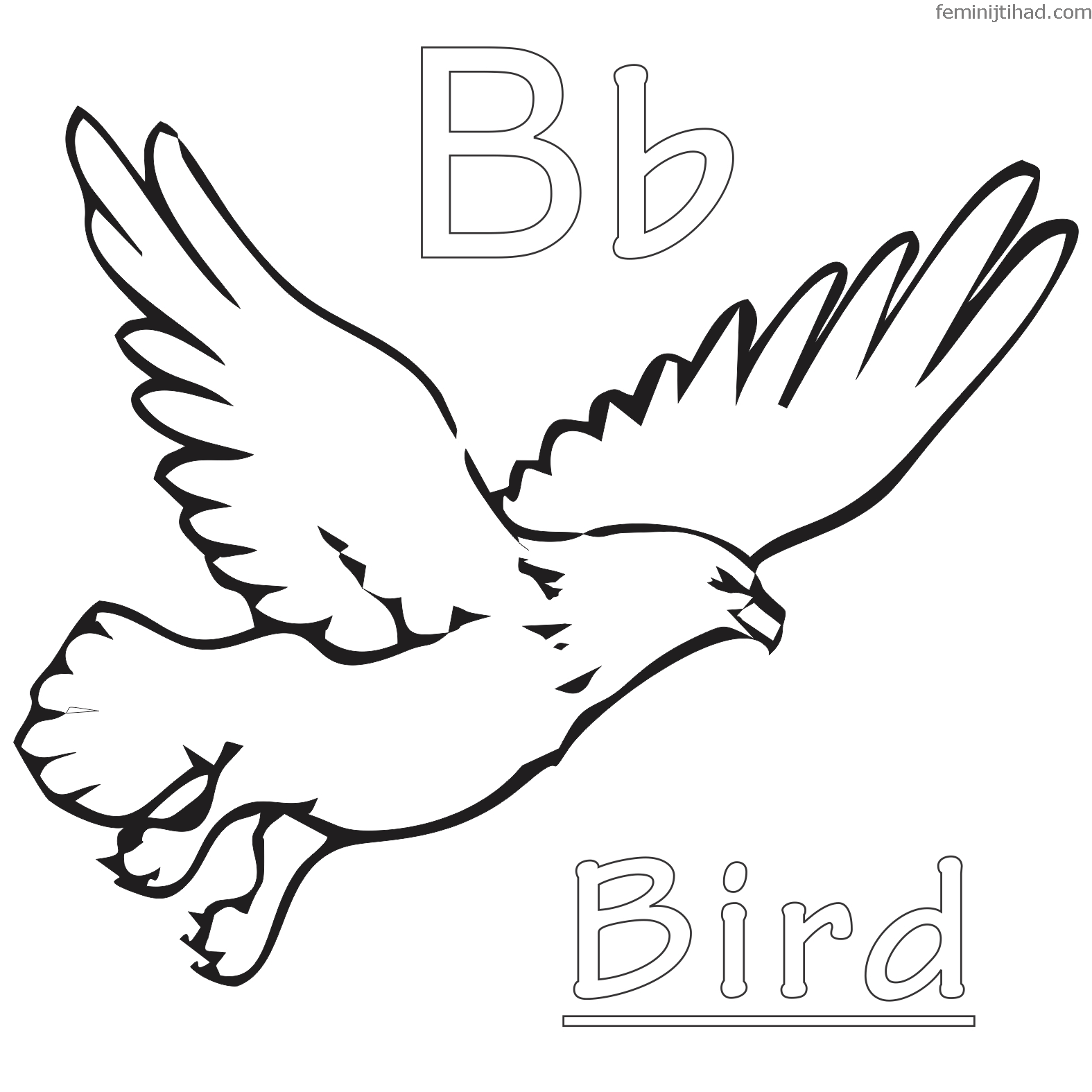 1575x1575 Free Bird Coloring Pages Printable Coloring Pages For Kids