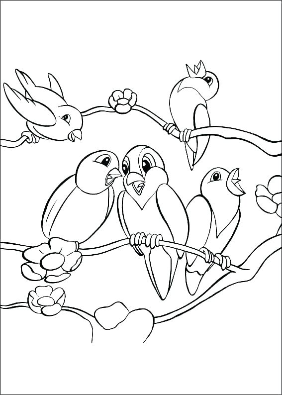 567x794 Coloring Pages Bird Hawk Bird Coloring Page Coloring Pages Birds