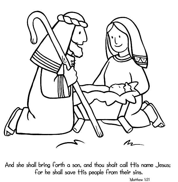 611x625 Birth Of Jesus