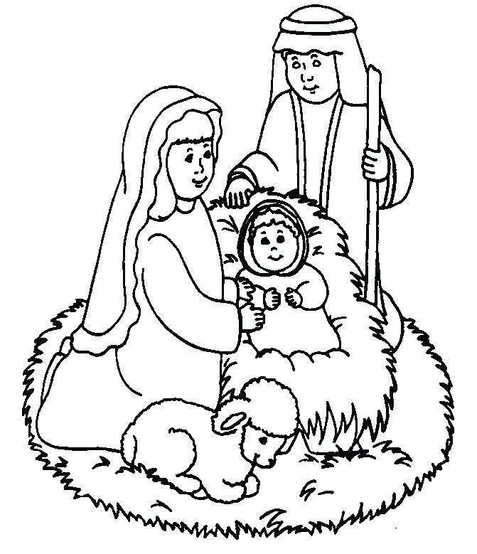 671x779 Coloring Pages Of Baby Online Best Birth Of Jesus Coloring Page