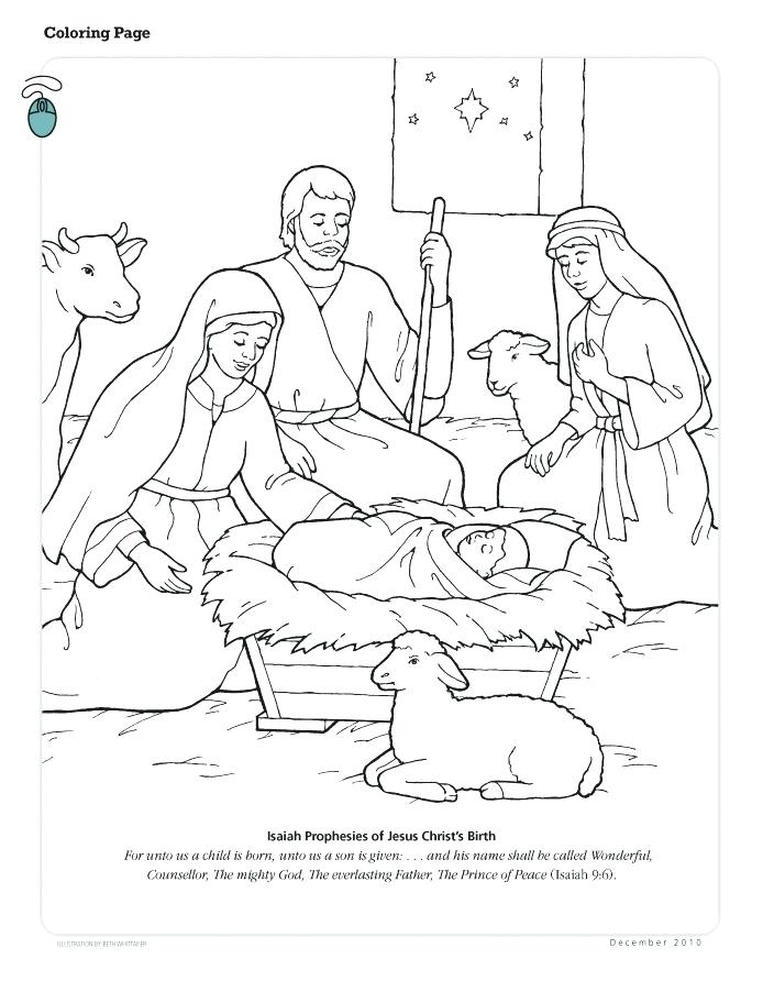 694x902 Jesus Is Born Coloring Page Coloring Pages Coloring Picture