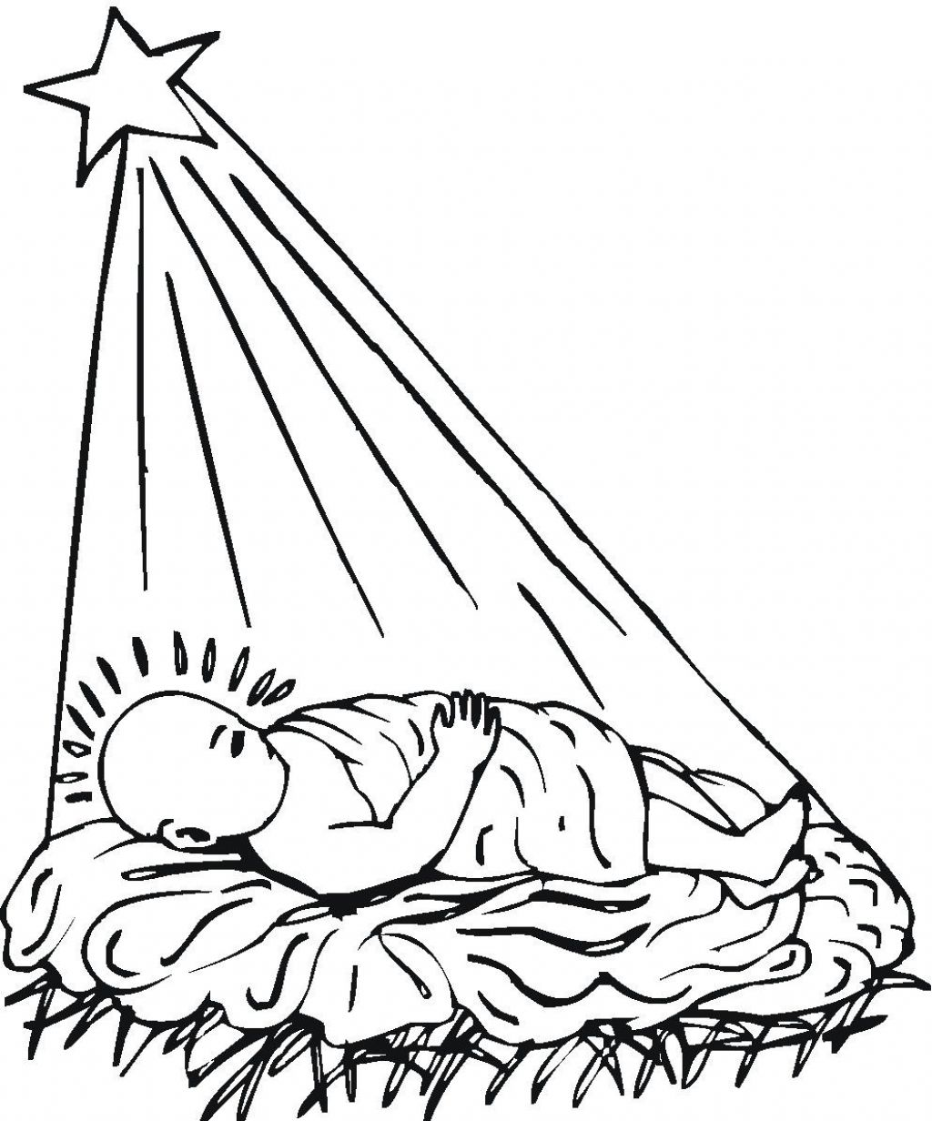 1024x1232 Redoubtable Coloring Pages Of Jesus Christ Christmas For Kids