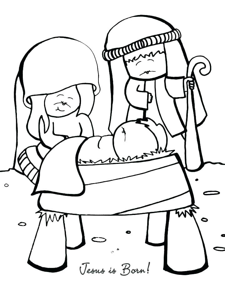 720x935 Birth Of Jesus Coloring Pages Vanda