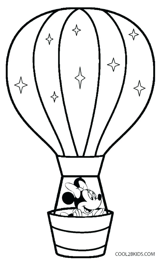 618x1004 Birthday Balloon Template Printable Balloon Coloring Page Balloon