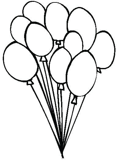 383x525 Blank Hot Air Balloon Coloring Pages Printable Coloring Liberal