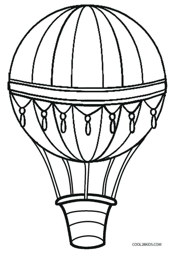 700x1021 Printable Pictures Of Balloons Vintage Hot Air Balloon Coloring