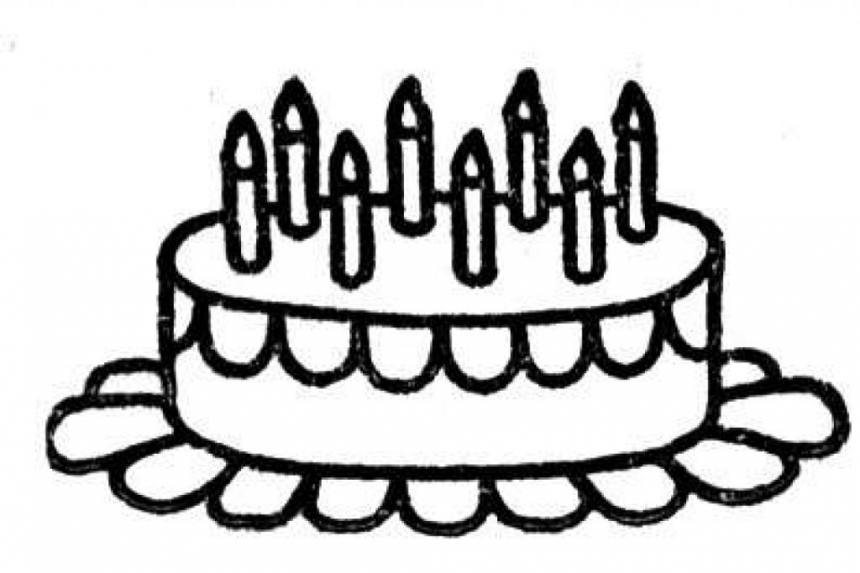 960x639 Get This Online Birthday Cake Coloring Pages !