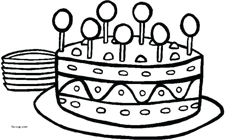 768x480 Wedding Cake Coloring Pages Coloring Page Cake Cupcake Coloring