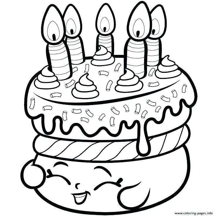 736x736 Birthday Cake Coloring Page Who Love Birthday Cake Try This Free