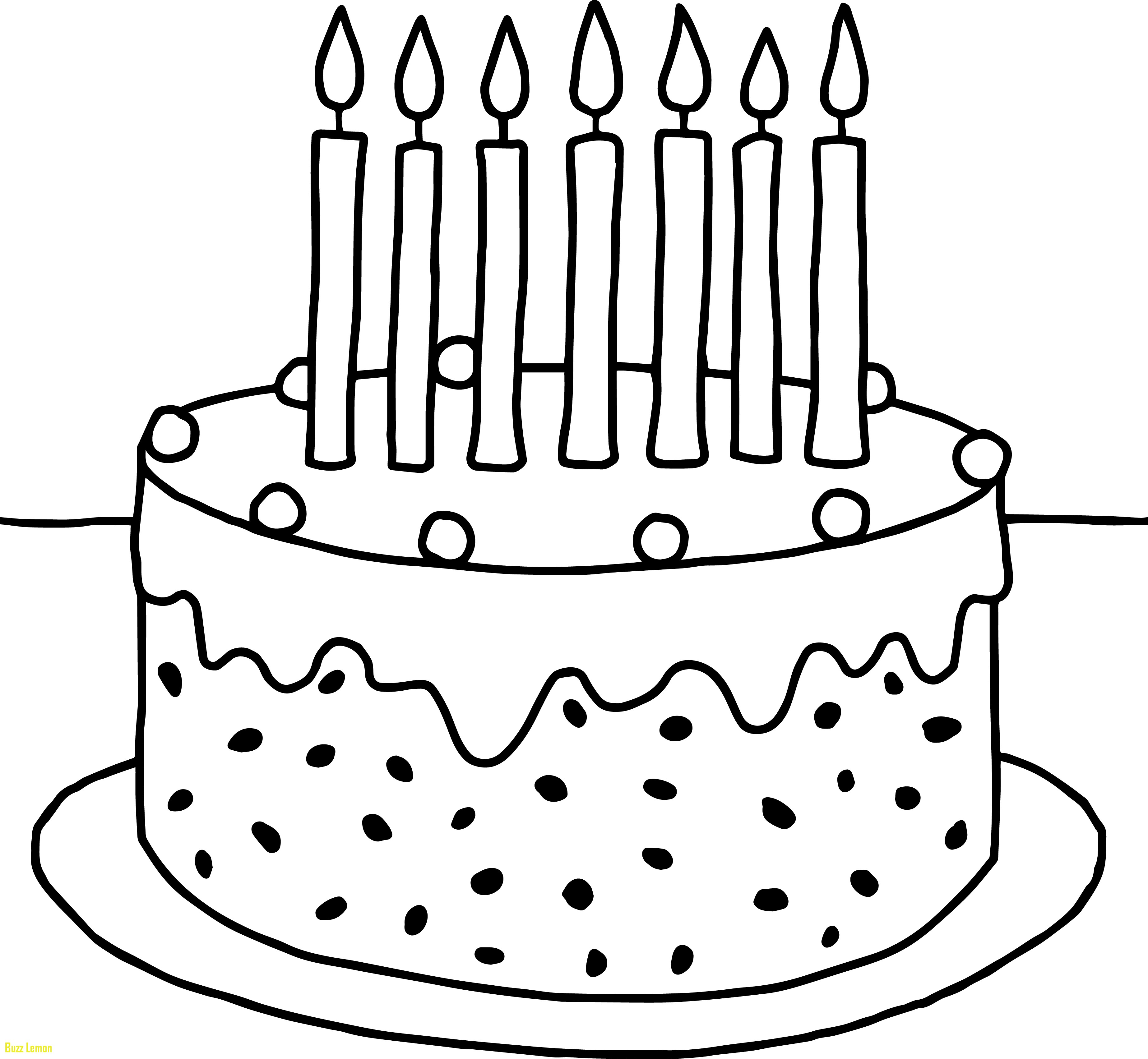 3692x3407 Preschool Coloring Pages Inspirational Birthday Cake Coloring