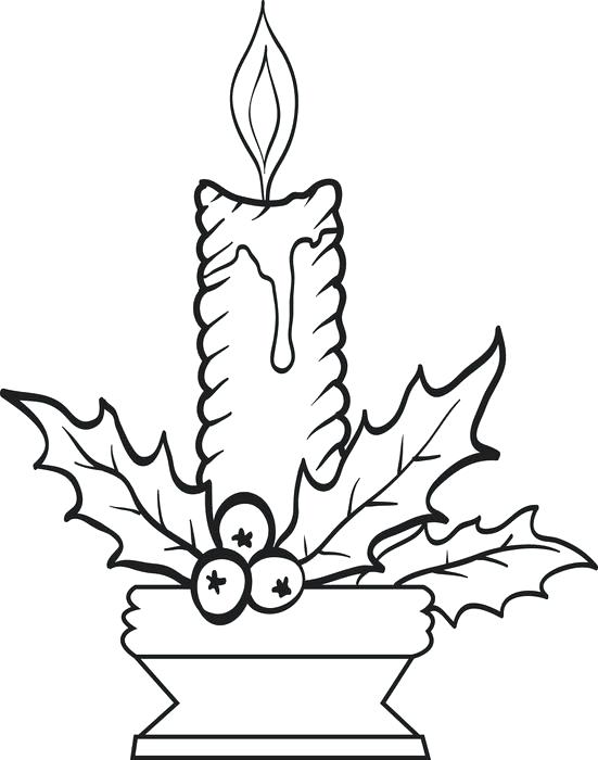 551x700 Candles Coloring Page Free Coloring Birthday Candle Coloring Pages