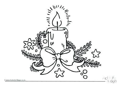 460x325 Birthday Candle Coloring Page Candle Coloring Sheet Candle