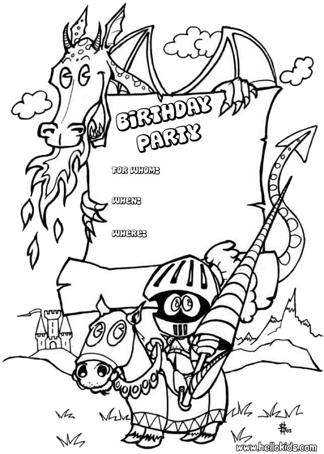 643x900 Birthday Cards Coloring Pages
