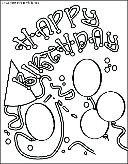 504x648 Frozen Birthday Card Coloring Pages Free Printable Cards