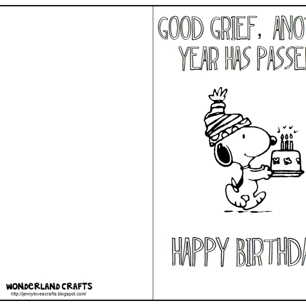 1024x1024 Printable Birthday Cards Black And White Proteinbar Inside