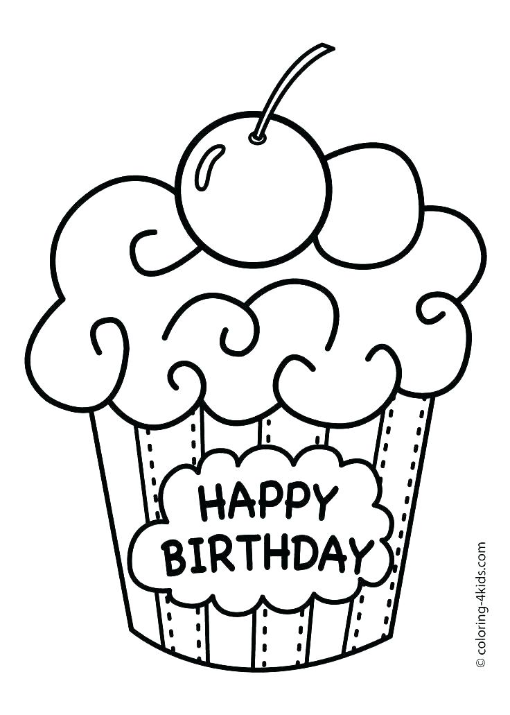 736x1031 Birthday Card Coloring Page Birthday Card Coloring Pages Thank You