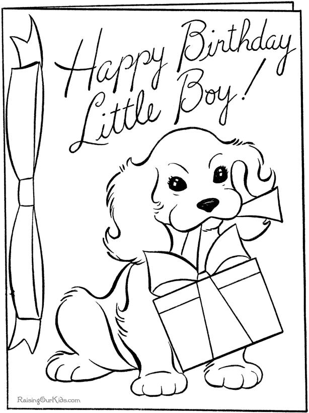614x820 Birthday Card Coloring Sheet Best Happy Birthday Wishes