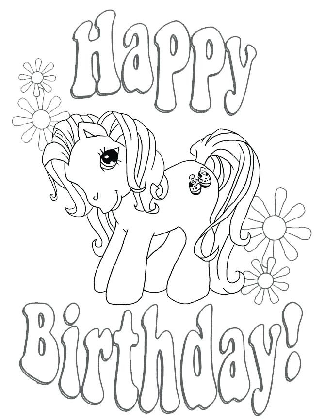 670x867 Luxury Happy Birthday Coloring Pages