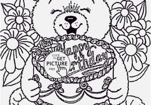 300x210 Happy Birthday Coloring Pages For Adults Display Happy Birthday