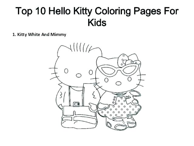 638x479 Hello Kitty Birthday Coloring Page Printable Hello Kitty Coloring