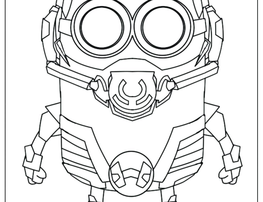 1000x768 Printable Minions Coloring Pages Happy Birthday From Minions