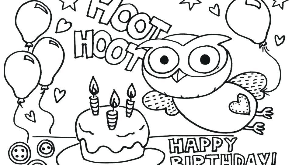 960x544 Printable Happy Birthday Coloring Pages Happy Birthday Grandpa