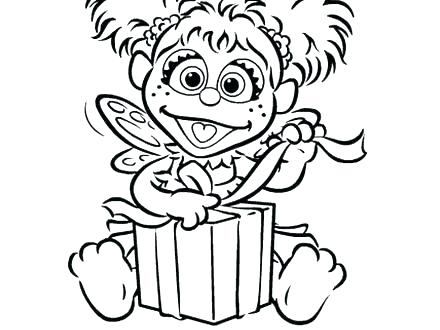 440x330 Sesame Street Birthday Coloring Pages Happy Birthday Coloring Book