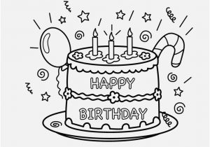 300x210 Birthday Coloring Pages Printable Gallery Nice Happy Birthday Card