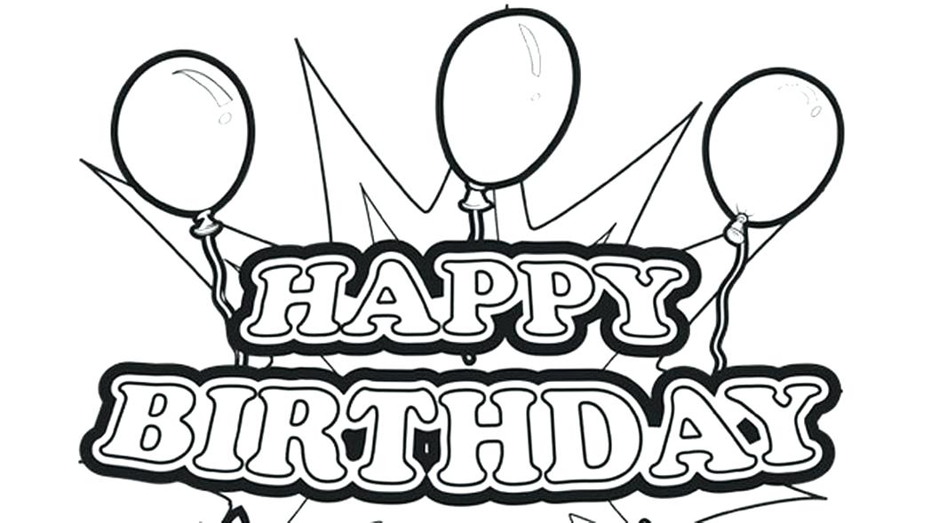 1048x589 Free Printable Happy Birthday Coloring Pages Happy Coloring Pages