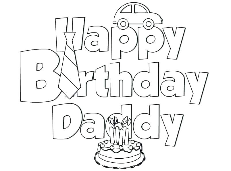 804x595 Birthday Coloring Pages For Mom Vanda