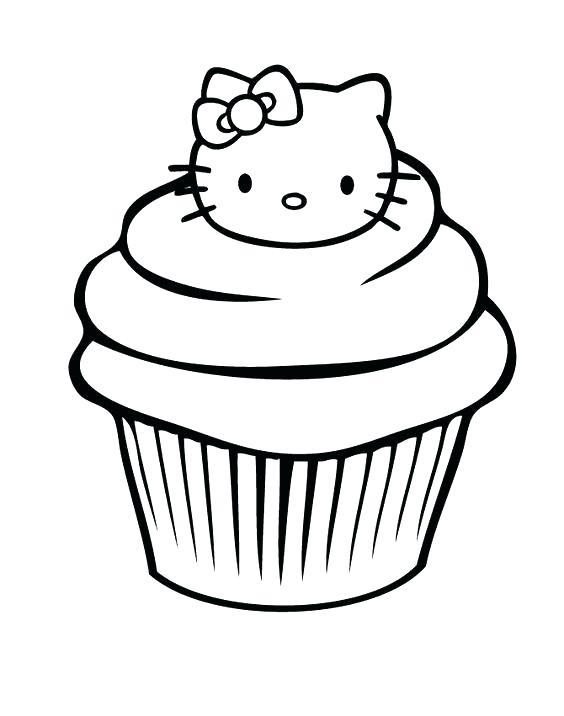 564x716 Cupcake Coloring Sheets Cupcake Coloring Pages Cupcakes Printable