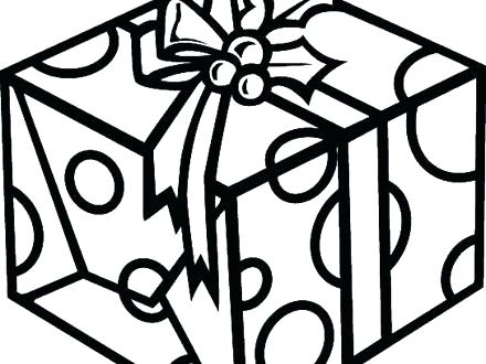 440x330 Present Coloring Page Gift Coloring Pages Presents Coloring Pages
