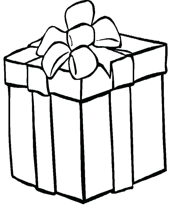 718x938 Presents Coloring Page Amazing Birthday Present Coloring Page New