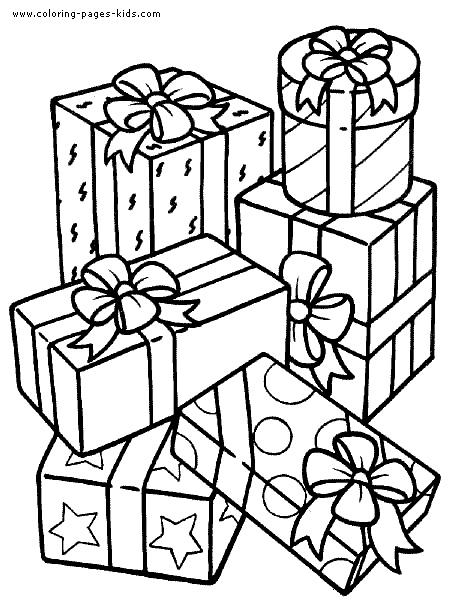 450x600 Birthday Present Coloring Page Best Happy Birthday Wishes