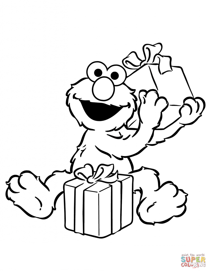 791x1024 Birthday Presents Coloring Page Awesome Pages Present Sheets Gifts