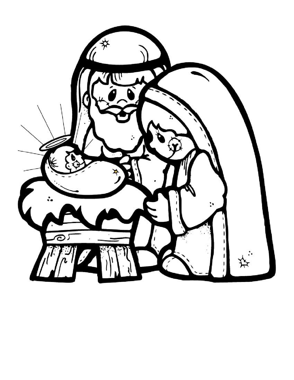 1240x1605 Christmas Coloring Pages Printable Winter Download Free For Kids