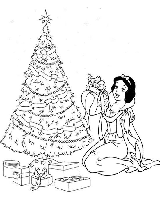 550x692 Disney Christmas Coloring Sheets