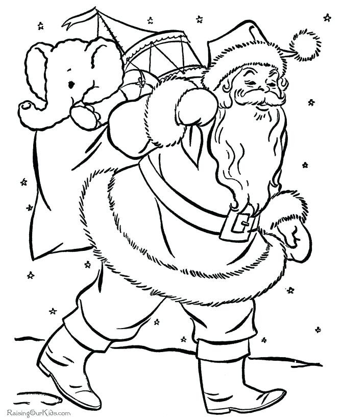 670x820 Coloring Pages Christmas