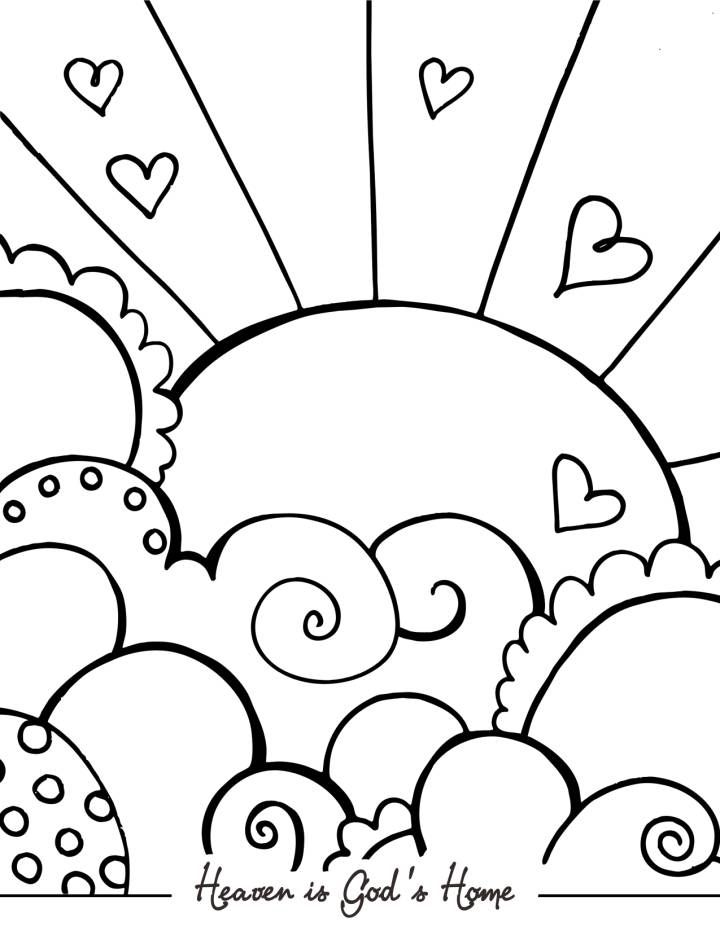 Black And White Coloring Pages For Kids