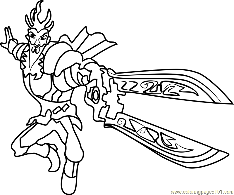 800x668 Slugterra Coloring Pages