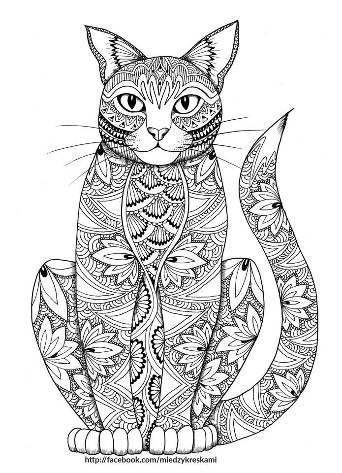 Black And White Coloring Pages Of Animals